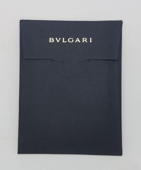 Certificado De Garantia Bulgari Em Branco 130 Mm X 100 Mm