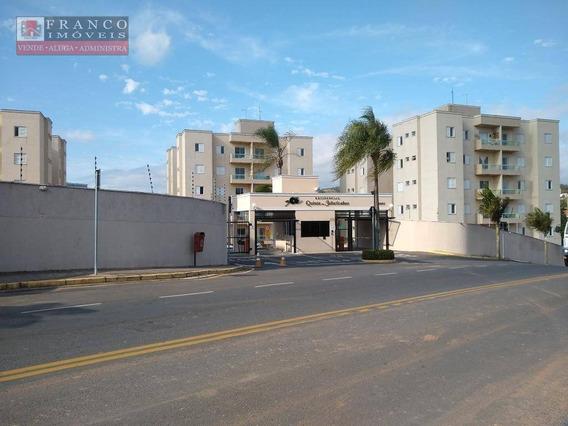 Apartamento Com 3 Dormitórios Para Alugar, 81 M² Por R$ 1700/mês - Condomínio Quinta Das Jabuticabas - Valinhos/sp - Ap0414