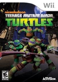 Nintendo Wii Juego Tortugas Ninja Tmnt Nuevo Y Sellado De
