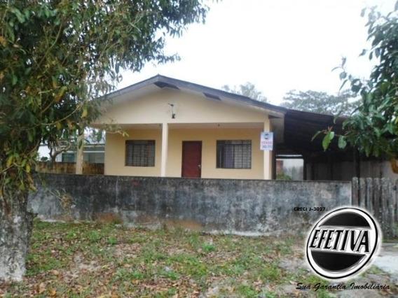 Casa 2 Quadras Do Mar Canoas - Pontal Do Paraná - 1807r