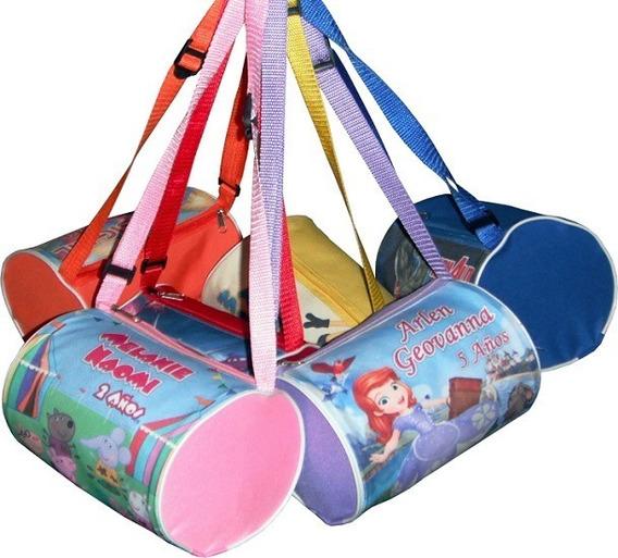 10 Lonchera Tubular Personalizada Dulcero Bolo Fiesta Piñata