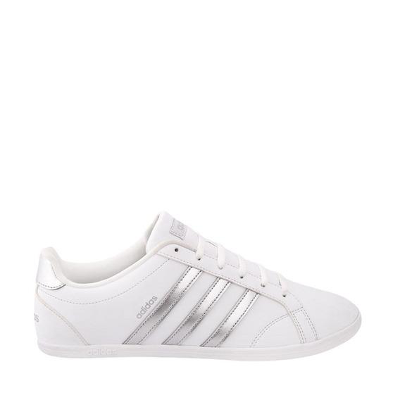 Tenis Casual adidas Vs Coneo Qt W 176422 Blanco Plateado