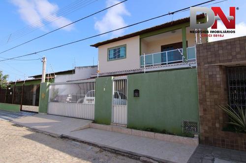 Imagem 1 de 18 de Casa Com 3 Dormitórios À Venda, 180 M² Por R$ 390.000 - Neópolis - Natal/rn - Ca0078