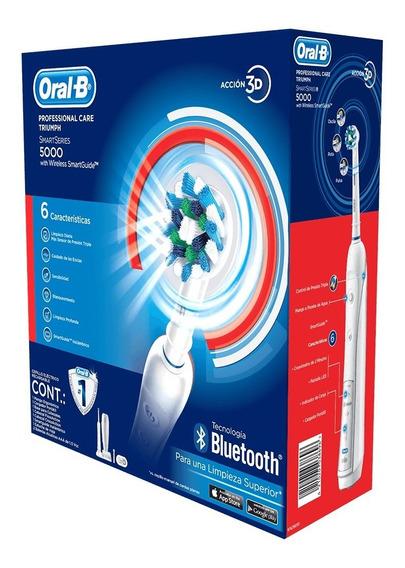 Cepillo Eléctrico Dental 5000 Oral-b +bluetooth Envío Gratis
