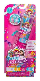 Party Pop Teenies - Un Tubo 1 Muñecas + 1 Mascota!