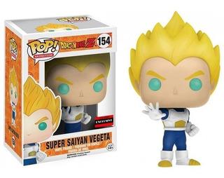 Pop! Anime Dragon Ball Z Super Saiyan Vegeta Vinyl Nuevo