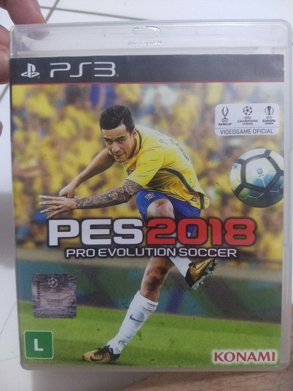Pes 2018 Ps3 Pro Evolution Soccer Usado