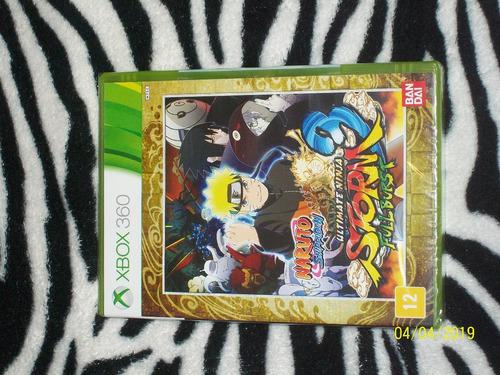 Naruto Ultimate Ninja Storm 3 Full Burst Fisico Sellado Xbox