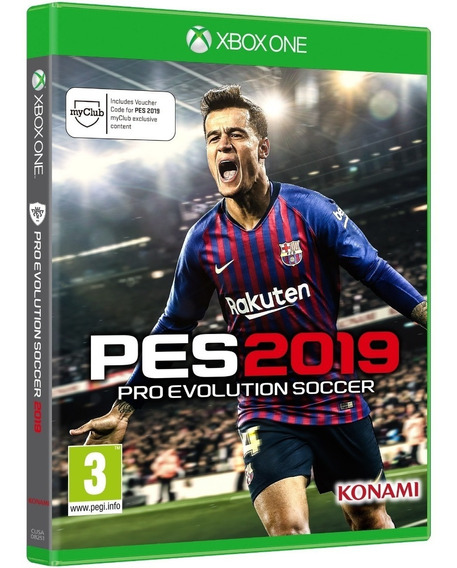Game Pes 2019 Pro Evolution Xbox One Disco Fisico Português