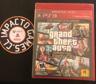 Gta 4 Liberty City (ps3) (sellado) Impacto Games Envios