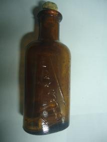 Vidro Frasco Creolina Antigo Creolim 30ml