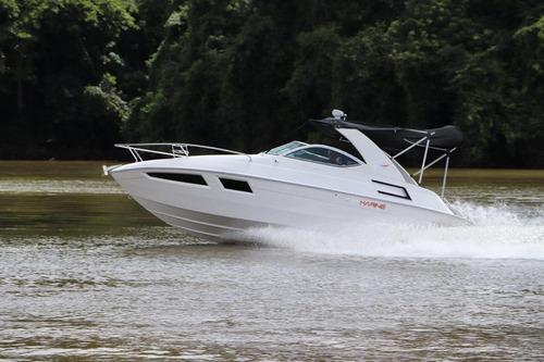 Lancha For Marine 260 Gabinada Com Targa + Motor 4.5 250 Hp