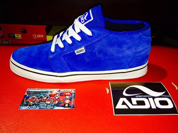 Zapatilla Adio Mod :modica Azul **zona Munro***