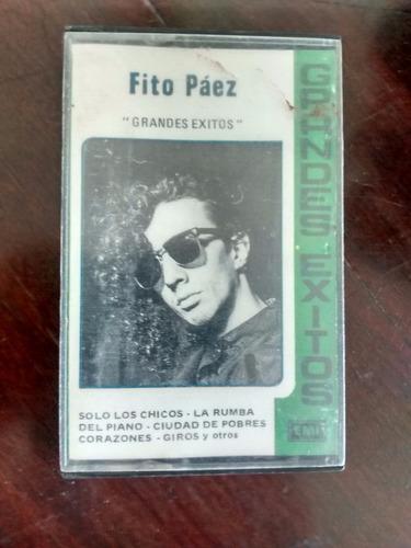 Cassette  De Fito Paez -grandes Exitos (316