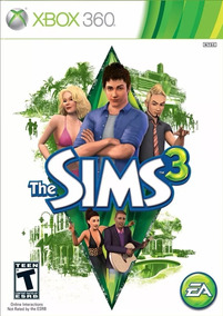 The Sims 3 Xbox 360 Mídia Física Lacrado De Fábrica
