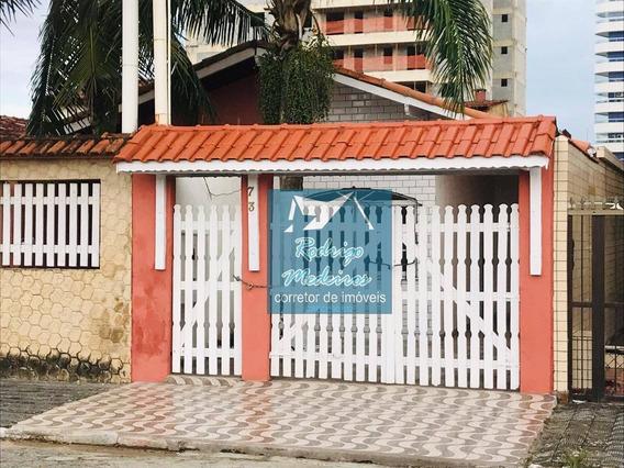 Casa Com 2 Dormitórios À Venda, 80 M² Por R$ 210.000 - Caiçara - Praia Grande/sp - Ca0031