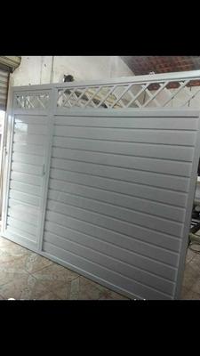 Trabalhamos Com Portões Em Alumínio E Instalação De Vidros
