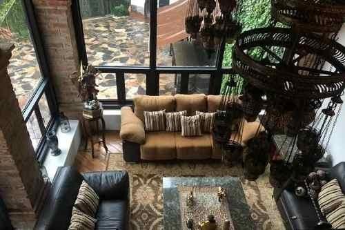 Hermosa Casa Amueblada En Renta Lomas Anahuac!! Vista Arbolada Con Un Arroyo