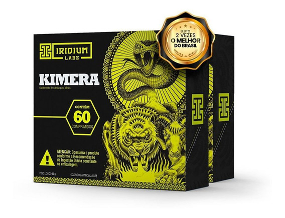 Kimera Thermo - 60 Comps - Kit 2 Caixas - Termogênico