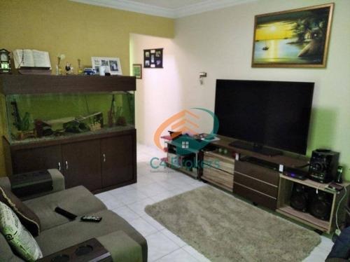 Sobrado Com 3 Dormitórios À Venda, 125 M² Por R$ 405.000,00 - Jardim Las Vegas - Guarulhos/sp - So0623