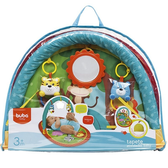Tapete De Atividades Com Arco Baby Safari Buba 5832