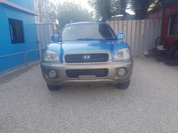 Hyundai Santa Fe Azul