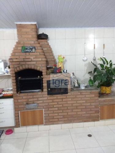 Sobrado À Venda, 300 M² Por R$ 700.000,00 - Jardim Vila Galvão - Guarulhos/sp - So0160