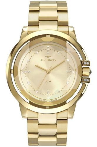 Relógio Technos Feminino Crystal Swarovski 2036mll/4x