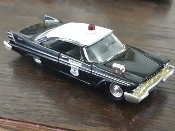Johnny Lightning Premium Plymounth Police Gm Colecciones
