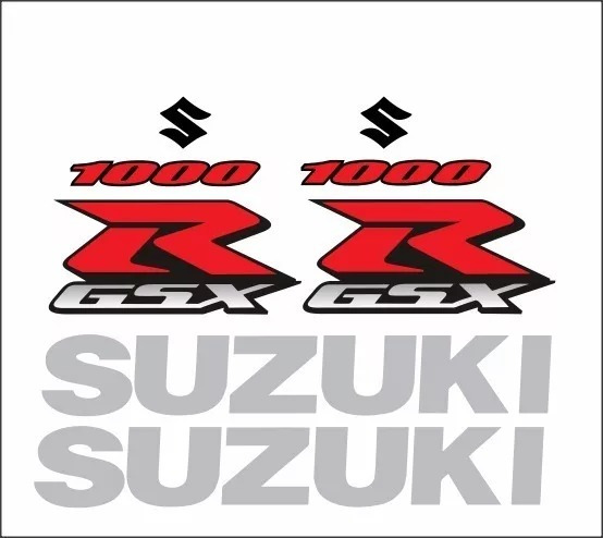 Kit Adesivo Suzuki R Gsx Srad 1000 2005