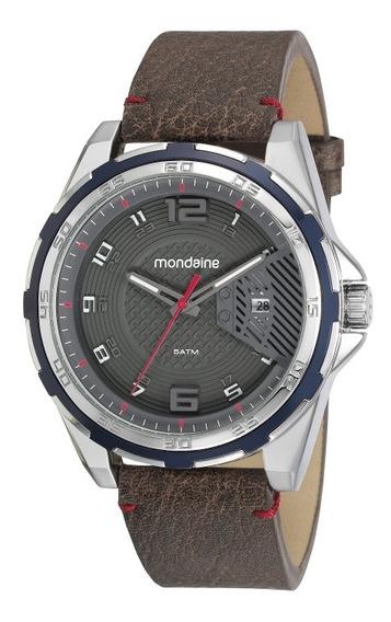 Relógio Mondaine Masculino Prateado 53754g0mvnh1 1 Ano.