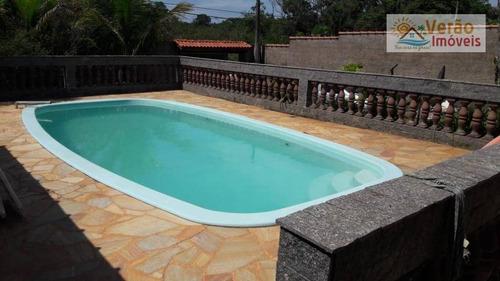 Imagem 1 de 30 de Chácara Com 3 Dormitórios À Venda, 570 M² Por R$ 250.000,00 - Cidade Jardim Coronel - Itanhaém/sp - Ch0022