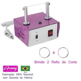 Máquina De Cortar Fita E De Fazer Fuxico + 2 Refis De Brinde