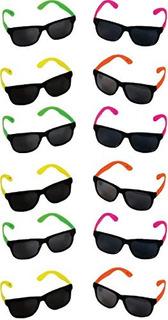 Gafas De Sol Estilo Fiesta De Rhode Island Novelty Neon 80 C