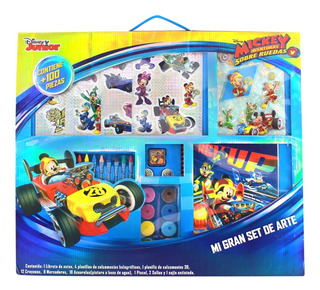 Mi Gran Set De Arte Estuche Para Dibujar, Mickey Mouse