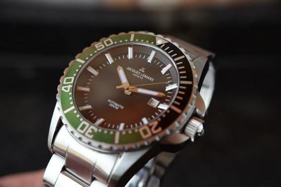 Relógio Jacques Lemnans Geneve Automático - G-223
