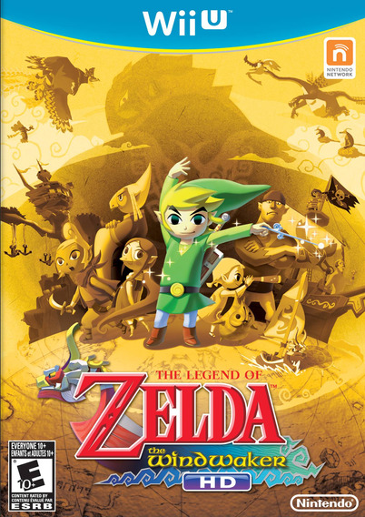 Wii U - The Legend Of Zelda The Wind Waker