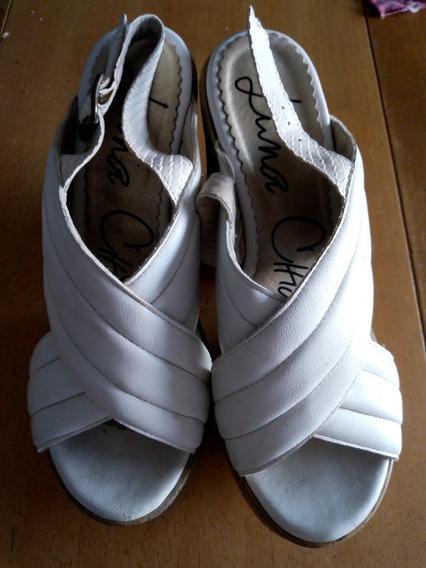 Zapatos Luna Chiara Blancos