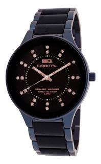 Reloj Orbital Acero/acrilico Mujer 3atm Cyber Outlet