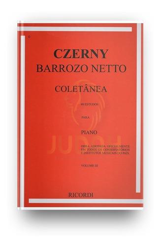 Imagem 1 de 2 de Czerny - Coletanea Vol. 3 - Rb-0033
