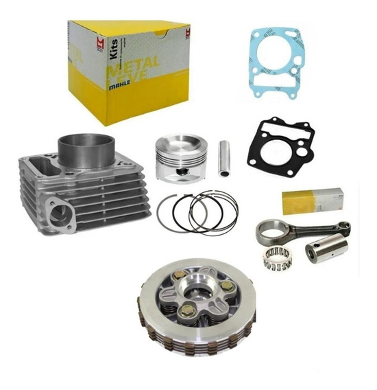 Cilindro Do Motor Kit Biz 125 2010 A 2017 + Partes