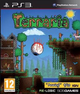Terraria Ps3 Original - Play Perú