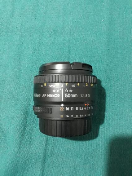 Lente Nikon 50 Mm Af1.8