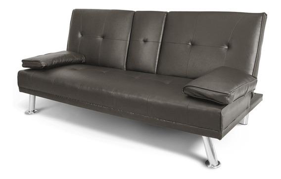 Sofa Cama Individual Minimalista Sillon Comodo 3 Posiciones