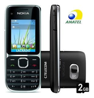 Nokia C201, Lacrado 3 G Anatel Fone Cartão 2gb Manual,c2-01
