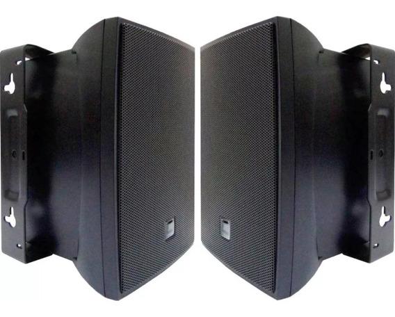 Caixa Som Ambiente Casa Jbl Selenium C521p Preta Par - Promo
