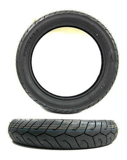 Pneu Scooter Pcx 150 Pirelli 57p Tl 100/90-14 E 90/90-14 Par