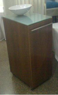 Mueble Con Bacha De Cerámica