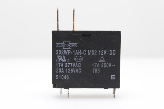 Kit 5 Unidades Relê Para Microondas 12v X 17a