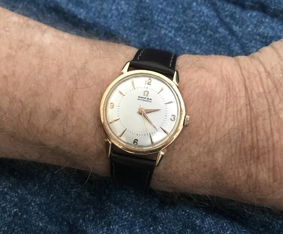 Relógio Ouro 18k Maciço Omega Bumper - 13 Anos No M. Livre